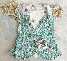 Reuse 30s Dana Kent Wrap Jacket Patchwork Novelty Print Fabrics Vintage
