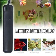 25W Mini Aquarium Heater Submersible Fish Tank Adjustable Water Thermostat x 1