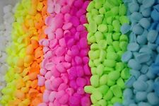 Bath Bomb Beans Fizzy  1 Lb Pack of Solid color Assorted scents lot..