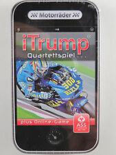 """ASS Altenburger 225 71322 iTrump Quartettspiel """"Motorräder"""" plus Online-Game NEU"""