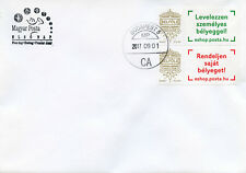 Hungary 2017 FDC Very Own Stamp Inland 2v Set Cover Stamps