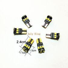 6Pcs T10 2835SMD 6000K LED Interior Reading Lights For Volvo S60 V60 XC60 S80