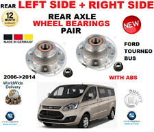 FOR FORD TRANSIT TOURNEO BUS + ABS REAR WHEEL BEARINGS 2006->2014 LEFT + RIGHT