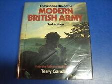 BOOK  MODERN BRITISH ARMY 2ND EDITION BY GANDER 1982 PRINTING