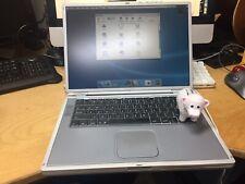 """Apple PowerBook G4 15.2"""" Laptop M8859LL/A November, 2000 Titanium A1025 Vintage!"""