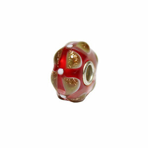 *Collectors Item* Trollbeads Wishes & Kisses  Collection Bead TGLBE-00087-C