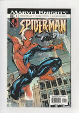 Marvel Knights Spider-man #1 F+ 2004 Black Cat