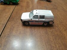 Golden Wheel White CHICAGO Police SUV 1:64 Scale Diecast China