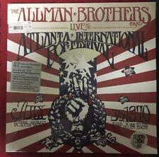 RSD 2018 ALLMAN BROTHERS LIVE ATLANTA INTERNATIONAL POP FESTIVAL 1970 4LP NEW
