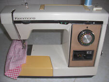 Kenmore 1765180 Zig-Zag Heavy Duty Sewing Machine Working with Control Pedal