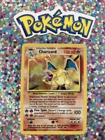 ⭐️ Classic 1st Gen English Charizard Holo Base Set WotC Card Non Shadowless 🎏