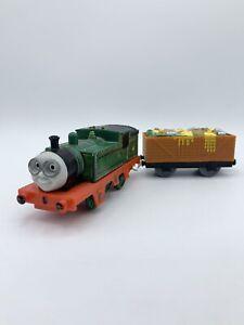Thomas & Friends Engine Motorized Train Whiff W/ Trash Cargo Car Trackmaster