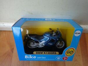 1/18 MAISTO TESCO EXCLUSIVE BMW K 1200RS BLUE DIECAST BIKE MOTORCYCLE