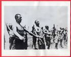WW2 Allied POWs Prisoners Exercise Netherlands East Indies 7x9 Orig. News Photo