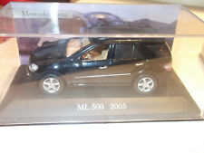 1:43 Ixo mercedes-benz ml 320//420//500 w164 negro//Black OVP