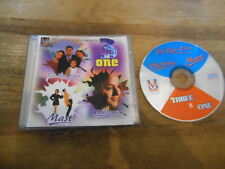 CD OST Three In One : Dil Kya Kare/Chehraa/Mast (12 Song) MUSIC MASTER jc