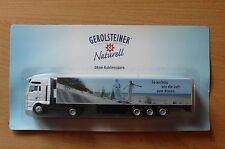 Modellino autocarro per birra Rimorchio trasporto MAN GEROLSTEINER stufato HS 15