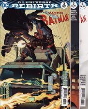 ALL STAR BATMAN #3 VARIANT COVERS SET DC Comics Universe Rebirth Harley Quinn 12