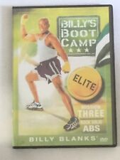 BILLY BLANKS Billy's Bootcamp Elite Mission THREE ROCK SOLID ABS (DVD, 2006)