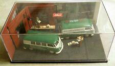"""Schuco 03361: Diorama """"Berliner Morgenpost"""" mit VW T1, 1/43 - sehr selten"""