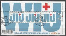 Nederland NVPH 2512 Vel Rode Kruis 2007 Gestempeld FDC