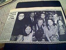 67-3  ephemera 1974 picture haffenden ltd richborough raise charity money staff