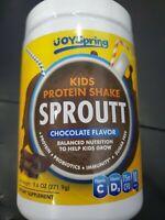 JOY SPRING- Kids Protein Shake- Chocolate Flavor- 75m CFU- EXP. DATE: 08/2023