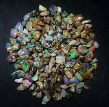 Natural Good Quality Ethiopian Opal Loose Gemstone Rough Lot