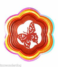 """Wind Spinner - Butterfly - Outdoor/Indoor  - Stainless Steel 12"""" - On Sale!"""