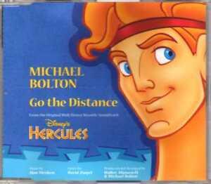 Michael Bolton - Go The Distance - Promo CDM -1997 -Pop 1TR Walt Disney Hercules