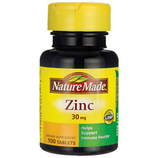 Nature Made Zinc 30 mg 100 Tabs