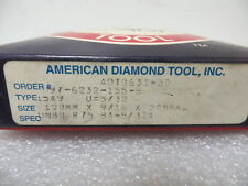 Diamond Grinding Wheel 15A9 Saucer 100mm Arbor Hole - 80 Grit  New Made in U.S.A