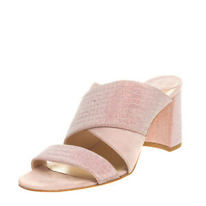 RRP €265 POLLY PLUME Mule Sandals EU 39 UK 6 US 9 Contrast Leather Made in Italy