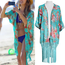 Summer Boho Women Bathing Suit Lace Crochet Bikini Swimwear Cover Up Beach Dress