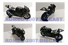 1:12 Conversión Carbon Bike Moto Minichamps Valentino Rossi 2010 Test NO 2013