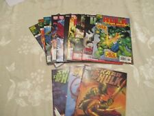 """Marvel Comics """" The Hulk """"Lot Of 10 Editions  (See description For more Info )"""