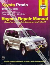 NEW HAYNES REPAIR WORKSHOP MANUAL: TOYOTA PRADO 96-09