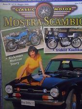 Mostra Scambio n°4 2000 - TRIUMPH TR 6 - RICKMAN METISSE STORY   [Q37]
