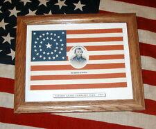 Post Civil War, 38 Star American Flag, President Ulysses S. Grant Campaign Flag