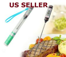 Meat Candy Jam Cooking Digital Thermometer Probe Food Kitchen BBQ Deep Fry