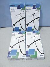 Lot 4x Labtron By Graham Field 513lb Neonatal Stethoscope Light Blue Dual Head