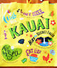 HAWAIIAN KAUAI YELLOW REUSABLE SHOPPING BAG  BEACH BAG / BEACH TOTE