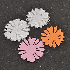 1 Set DIY Flower Cutting Dies Die Cutter Stencil Chrysanthemum Craft Template