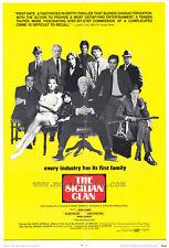 THE SICILIAN CLAN Movie POSTER 27x40 Jean Gabin Alain Delon Lino Ventura Irina