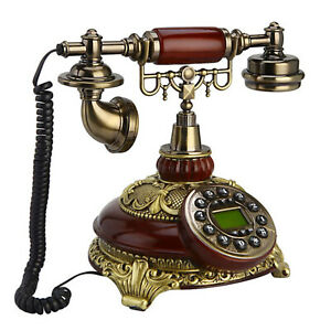 Vintage Look Europe style Landline Phone For Home Office Hotel HOT SALE..!