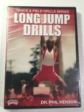 Track & Field Drills Series Long Jump Dr Phil Henson DVD Sealed NEW Championship