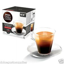 Dolce Gusto Espresso Intenso Decaf Pods 16/order 16servings New rare flavour 2UK