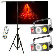 (2) Chauvet DJ Lighting Swarm 4 FX Moonflower 3 in 1 Light w/ Remote & Stand New