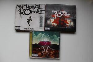 3 CD's MY CHEMICAL ROMANCE THE BLACK PARADE DANGER DAYS BLACK PARADE IS DEAD