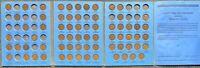 USA Lincoln Wheat Cent Sammlung in Album 68 Münzen 1909 VDB - 1940 P D S #26241